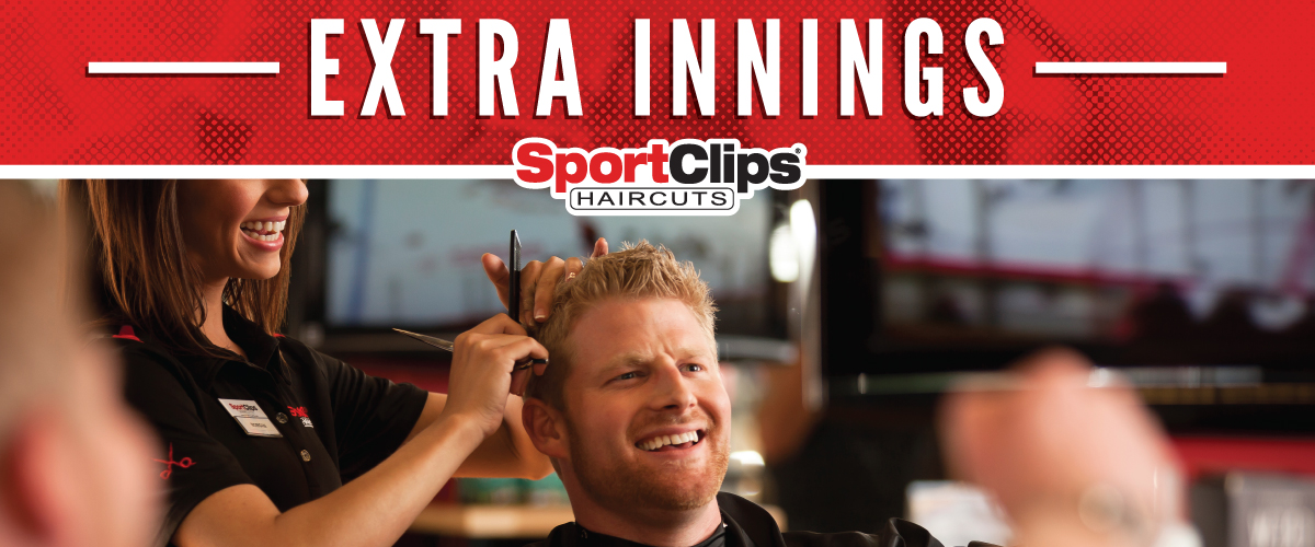 The Sport Clips Haircuts of Westminster - Orchard Park Place Extra Innings Offerings